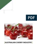 Australian Cherry Industry