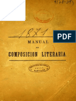 Manual de Composicion Literaria Chile