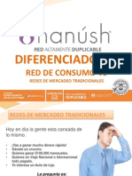 Nuevo Multiniveldiferenciadores Red de Consumo Nanush Red Altamente Duplicable vs Red de Mercadeo Tradicional