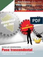 Boletín Nº 18 del Grupo Parlamentario Nacionalista Gana Perú
