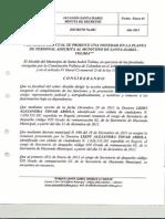 decreto 03 2012