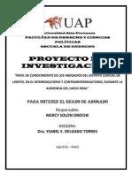 Proy Tesis _interrogatorio y Contrainterrogatorio