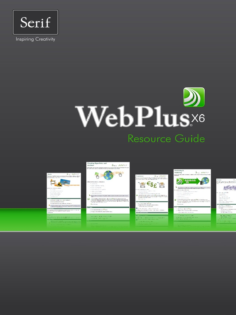 Webplus x6 resource guide | button (computing) | websites.