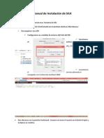 Manual de Instalación de SILK