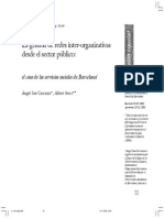 Gestión Inter Organizativa.