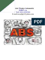 Sistema de Frenos Antibloqueos Abs Basico