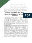 Padres Huerfanos en La Venezuela Del Mañana