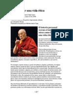 11 Dalai Lama Cmo Llevar Una Vida Etica