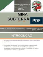 Mina Subterrânea