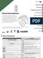 Manual de Cámara Fujifilm Finepìx SL300