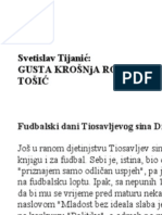 Gusta krošnja rodoslova čuvene srpske familije Tošić