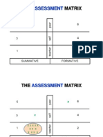 Use of the Assessment Matrix