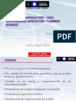 Arturo Barrera Agenda de Desarrollo Post 2015