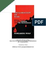 Declaracion de Guerra - Screaming Wolf