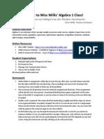 ala 2014-2015 algebra syllabus