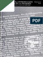 Faye Emmanuel Heidegger La Introduccion Del Nazismo en La Filosofia