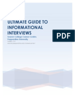 Ultimate Guide to Info Interviews