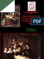 Importancia de Ciencias Forenses Por Dr. Alfredo Romero Díaz