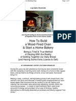 Building a Bread Oven