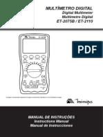 Minipa ET-2075B-2110-1101-BR