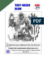 CBC- Computer Hardware Servicing NCII