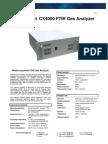 Gasmet CX4000 Technical Data (v1.7)