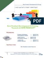 New Product Development Report