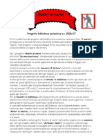 Progetto biblioteca 2007-2008 - Mostri di carta