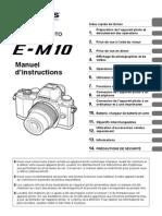 Olympus OM-D E-M10 Manuel d'Instructions (Française)