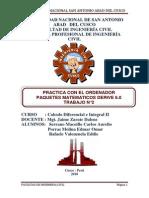 Informe Calculo II