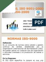 NORMAS ISO 9000,9001,9004