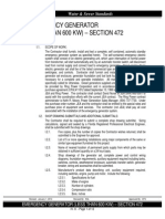 IV.9. Emergency Generator (Less Than 600 KW) - Section 472 - 2014