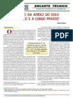 Encarte Tecnico 104 - Manejo Da Acidez Do Solo