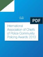 Cisco Chiefs of Police Awards 2013