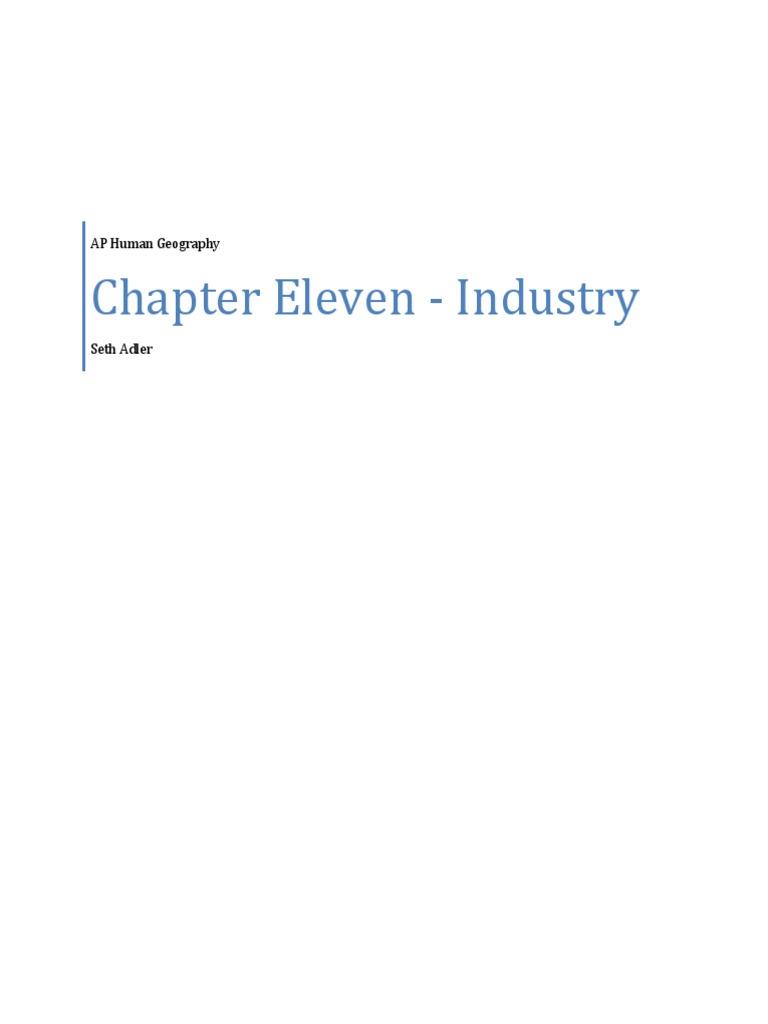 ap human geography chapter 6 key