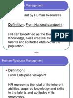 HRM Functions- Lec 2