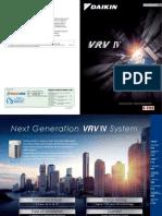 Catalogue Daikin VRV IV
