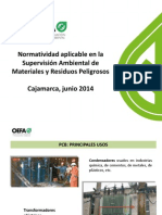 Normativa Ambiental PCB OEFA