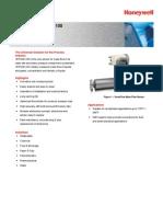 VersaFlow Coriolis 100 Mass Flow Sensor Specifications, 34-VF-03-09