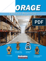 Reliable Storage Sprinklers Brochure