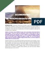 Ecumenismo El Resurgimiento de Babel