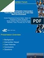 Deepwater Intervention Forum