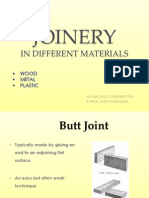 Joinery Final