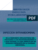 Antibioticos en Infecciones Intraabdominales