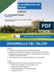 taller detectores CSEN Julio 14.ppt