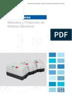 WEG Arrancadores 60hz 50025828 Catalogo Espanol