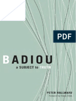 Peter Hallward-Badiou_ a Subject to Truth-Univ of Minnesota Press (2003)