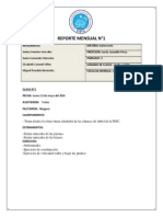 Reporte Mensual Basquet