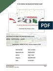 Honda Report - Arfeen EHS 2014-2015