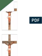 Estampitas Crucifijo Agonizante Español Grande